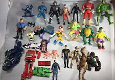 Lot Of 80's 90's Mixed VTG Lot Action Figures Transformers TMNT Jurassic Park