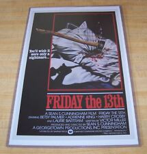 Friday the 13th Part 1 Betsy Palmer 11X17 Variant Movie Poster
