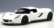 AUTOART 1/18 HENNESSEY VENOM GT SPYDER WHITE 75404