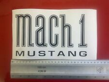 Ford Mustang Mach 1 wing fender decals graphics badges PAIR