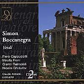 Verdi: Simon Boccanegra / Abbado, , Good