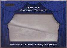 2010 Razor Pop Century Sacha Baron Cohen VARIANT Worn Wardrobe card #SW-46 RARE!