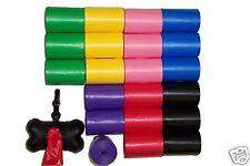 2261 RAINBOW PET DOG WASTE PICK UP POOP BAGS / REFILLS