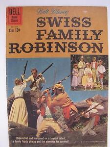 Walt Disney's Swiss Family Robinson  (Dec 1960, Dell) Four Color #1156 [VG+ 4.5]