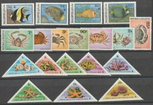 Maldives Fishes 3 sets MNH / SPN8176