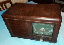 More details for vintage derwent 1940s bakelite radio