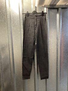 Street One Black Vintage Skinny High Waisted Mum mom Jeans Size UK 12 Long