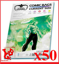 Pochettes Protection CURRENT Size REFERMABLES comics VO x 50 Marvel # NEUF #