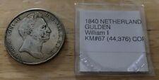 1840 NETHERLANDS 2 1/2 GULDEN William I KM#67 RESTRIKE?