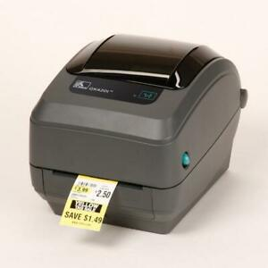 NEW Zebra GK420 thermal transfer printer- usb Work Labels / Stickers