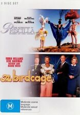 Priscilla Queen of The Desert / Birdcage DVD PAL Region 4 Aust Post