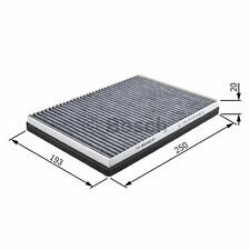 BOSCH Cabin Filter 1987432058 - Single
