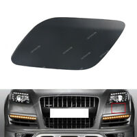 Primed Front Left Headlight Washer Cover Cap For Audi Q7 2010-2015
