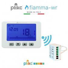 Cronotermostato Wireless digitale da parete settimanale a batterie - Plikc FIAMM