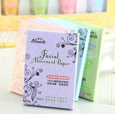 New 70Pcs Hemp Fibers Oil Absorbing Facial Blotting Paper 1Pack Makeup Natural