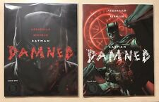 Batman Damned # 1 DC Black label COVER A&B Unread Uncensored SOLD OUT