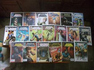Lot of 19 comics Supreme Power Marvel FULL RUN Hyperion Nighthawk Straczynski VF