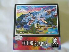 MASTERPIECES Color Scapes 1000 Piece Puzzle - Brand New in Sealed Box