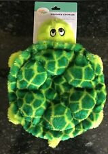 "ZippyPaws Squeakie Crawler Plush Dog Toy Squeaker  ""Turtle"" FREE SHIPPING"