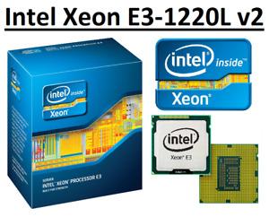 Intel Xeon E3-1220L v2 SR0R6 2 Core Clock 2.3 - 3.5 GHz, Socket LGA1155, 17W CPU