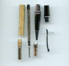 Flat Top Sierra pen kits - Chrome and Gun Metal
