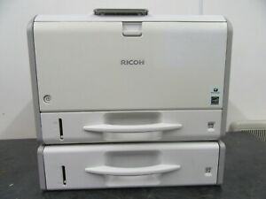 Ricoh SP 3600DN Mono A4 Printer, High Toner Level, 100%, Extra Tray, WARRANTY