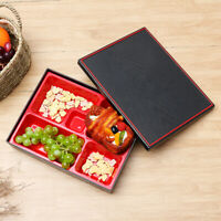 Bento Box Japanese Reusable Rice Sushi Catering Lunch Food Storage Container