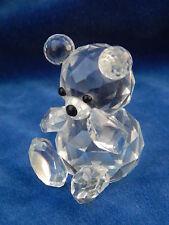 SWAROVSKI - CRISTAL / Crystal - OURS / Bear - 50 mm - MIGNON / Cute !