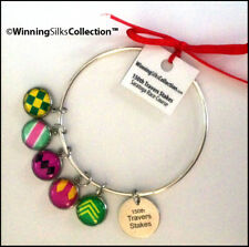 150 Saratoga Travers Winner Charm Bracelet - 6 Charms - WinningSilks™