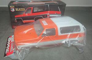 Traxxas Chevrolet Blazer TRX-4 Karosserie Body Set Orange NEU NIB Crawler 8130G