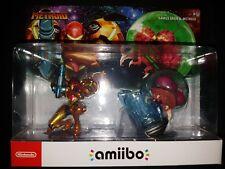 Nintendo Amiibo Samus Aran & Metroid 2-Pack Bundle |BRAND NEW SEALED USA