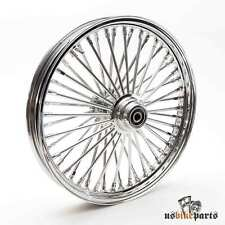 "19x2,15"" Big-Spoke Fat-Spoke Felge Chrom 3/4"" Harley-Davidson Custom Bikes"