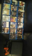 Ps4 console slim 1tb With Games