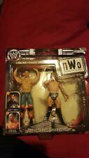WWE ACTION  FIGURES RARE 2002  NWO SCOTT HALL Vs STONE COLD STEVE AUSTIN SEALED