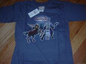 Nuovo Disney Store Il Chronicles Di Narnia Ragazzi Peter Tee T-Shirt 2/3-4