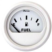 Faria Dress White Fuel Gauge