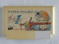 Final Fantasy 2 II NES SQUARE Nintendo Famicom From Japan