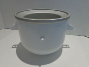 KitchenAid Ice Cream Maker Attachment Replacement Bowl Only ~ 2 Quarts