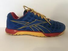 Reebok CrossFit Nano 4.0 Running Men Shoes Size 9.5 Blue 023501 C3