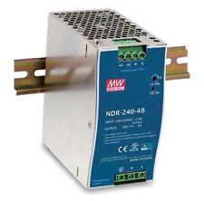 Meanwell AC/DC Schaltnetzteil für DIN-Schienenmontage 240W 24V NDR-240-24