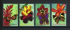 Antigua & Barbuda 2007 Sc#2945-8  Butterflies and Flowers  MNH Set $7.00