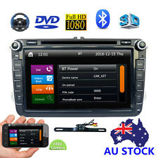 "8"" 2Din Radio Car CD DVD Player GPS Navi FM Bluetooth For VW JETTA PASSAT Golf"