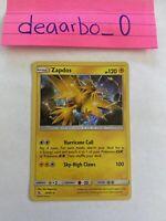 2019 Zapdos 24/68 Holo Rare M/NM Hidden Fates Pokemon Card