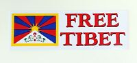 FREE TIBET AUFKLEBER IN 2 GRÖßEN STICKER HIMALAYA BUDDHISMUS BUDDHA NEPAL LAMA