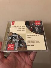 Sergey Prokofiev Ivan the Terrible Alexander Nevsky Rachmaninov Bells EMI CD