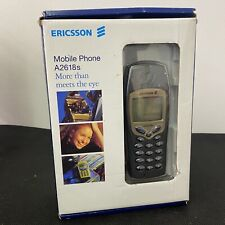Vintage Mobile Phone Ericsson A2618s With Charger Collectors Retro New Boxed