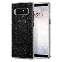 Samsung Galaxy Note 8 Case Spigen® [Liquid Crystal Glitter] Slim Bling TPU Cover