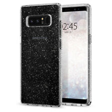 Samsung Galaxy Note 8 Case Spigen® [Liquid Crystal Glitter] Slim Bling TPU Cover