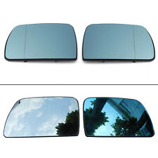 Pair Door Wing Mirror Glass Heated Anti Blind Left Right For BMW X5 E53 99-06