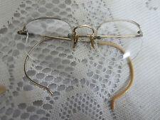 Vintage Eyeglasses 1710 12K Gold Fill Steampunk